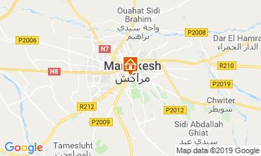 Karte Marrakesch Fremdenzimmer 119627