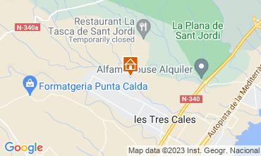 Karte L'Ampolla Villa 116276