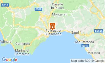 Karte Policastro Bussentino Appartement 72779