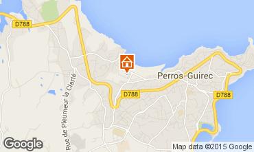 Karte Perros-Guirec Appartement 7430