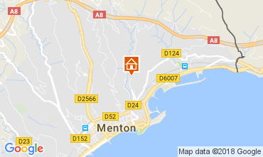 Karte Menton Appartement 113375
