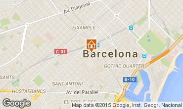 Karte Barcelona Appartement 74649
