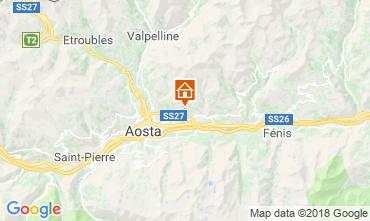 Karte Aosta Appartement 116508
