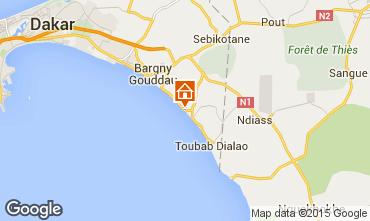 Karte Toubab Dialaw Villa 65531