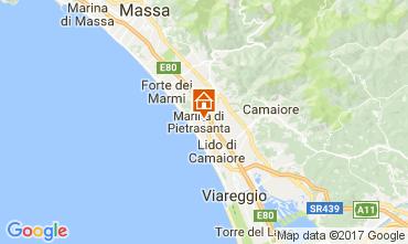 Karte Marina di Pietrasanta Villa 110926