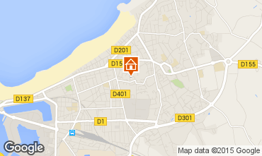 Karte Saint Malo Appartement 7572