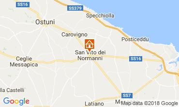 Karte Ostuni Villa 95258
