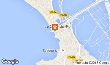 Karte Le Grau du Roi Appartement 49512