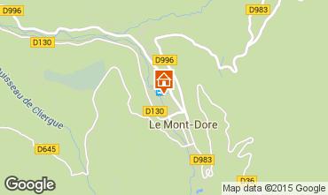 Karte Le Mont Dore Appartement 48443