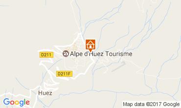 Karte Alpe d'Huez Studio 82866
