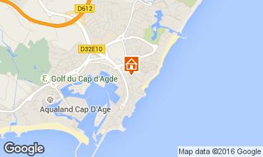Karte Cap d'Agde Studio 90262