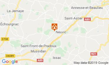 Karte Périgueux Ferienunterkunft auf dem Land 99472
