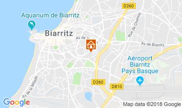 Karte Biarritz Haus 83182