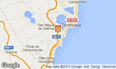 Karte Torrevieja Villa 102181