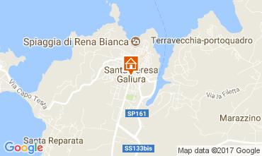 Karte Santa Teresa di Gallura Appartement 60838