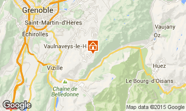 Karte Chamrousse Appartement 39422