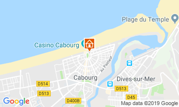 Karte Cabourg Appartement 63247