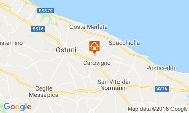 Karte Ostuni Villa 63775