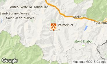 Karte Valloire Appartement 92317