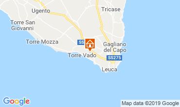 Karte Santa Maria di Leuca Villa 71686
