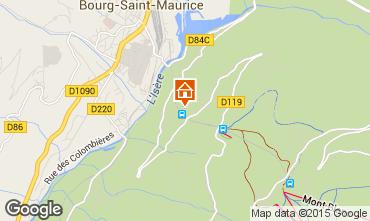 Karte Les Arcs Appartement 226