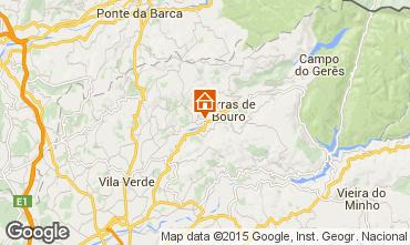 Karte Terras de Bouro Villa 58581