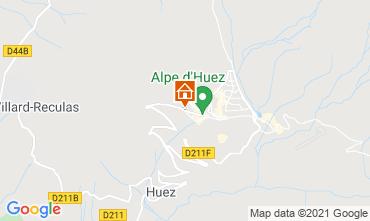Karte Alpe d'Huez Appartement 73993