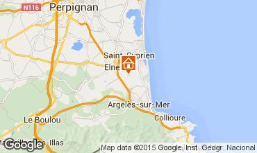 Karte Argeles sur Mer Haus 53024