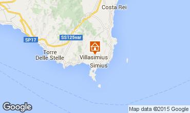 Karte Villasimius Appartement 95140