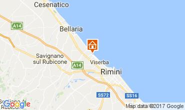Karte Rimini Appartement 102906