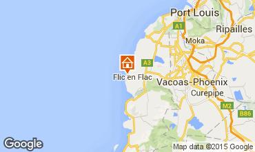 Karte Flic-en-Flac Bungalow 69426