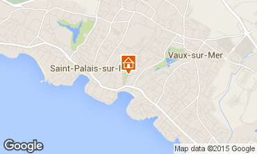 Karte Saint Palais sur Mer Appartement 87794