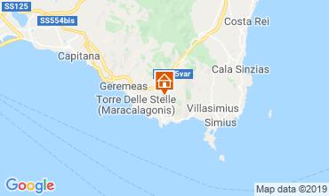 Karte Villasimius Villa 59840