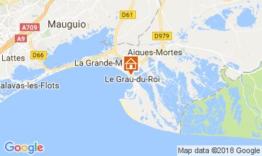 Karte Le Grau du Roi Appartement 110990