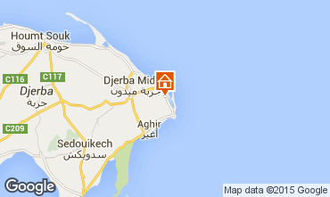 Karte Djerba Villa 100007