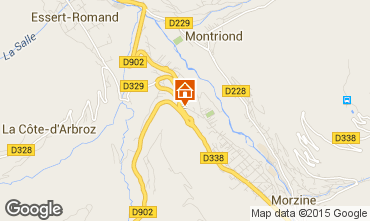 Karte Morzine Appartement 82300