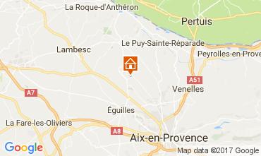 Karte Aix en Provence Villa 109342