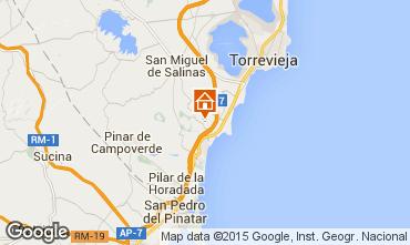 Karte Torrevieja Appartement 75404