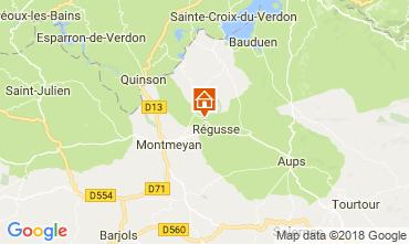 Karte Régusse Haus 114148