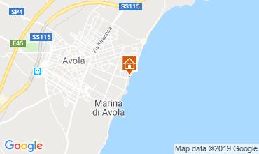 Karte Avola Appartement 113711
