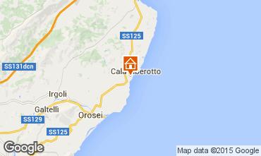 Karte Cala Liberotto Appartement 40444
