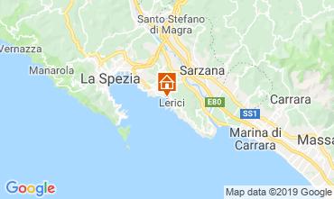 Karte Lerici Appartement 47626