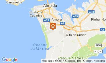 Karte Lissabon Villa 78951