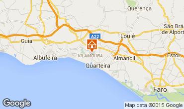 Karte Vilamoura Villa 16302