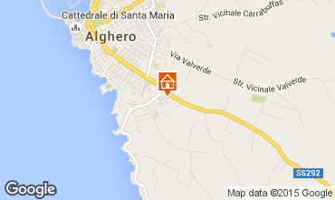 Karte Alghero Appartement 45136