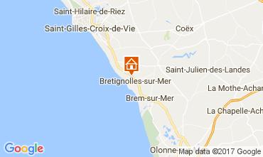 Karte Bretignolles sur mer Mobil-Home 98952