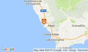 Karte Adeje Appartement 113786
