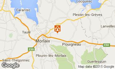 Karte Morlaix Ferienunterkunft auf dem Land 75696