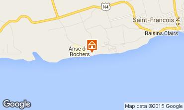 Karte Saint Francois Appartement 82066
