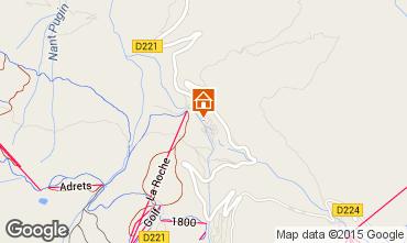 Karte La Plagne Chalet 37760